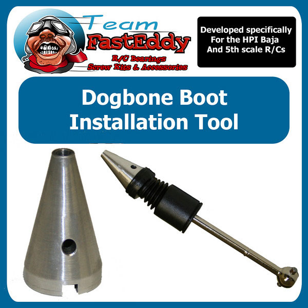 Fast Eddy Dogbone and Center shaft boot Installation Tool