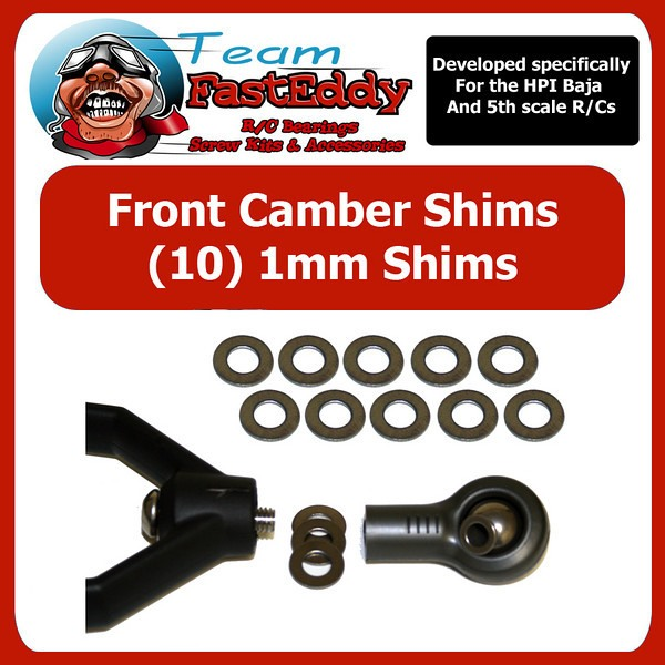 Fast Eddy Front Camber Shims HPI Baja