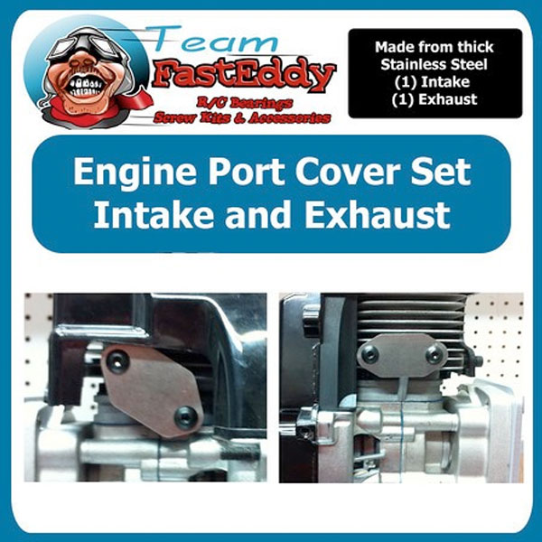 Fast Eddy Engine Port cover set