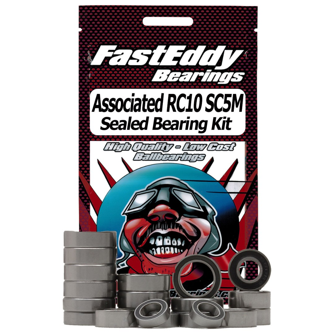 Fast Eddy Team Associated RC10 SC5M Sealed Bearing Kit
