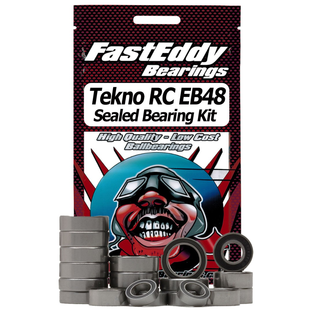 Fast Eddy Tekno RC EB48 Sealed Bearing Kit