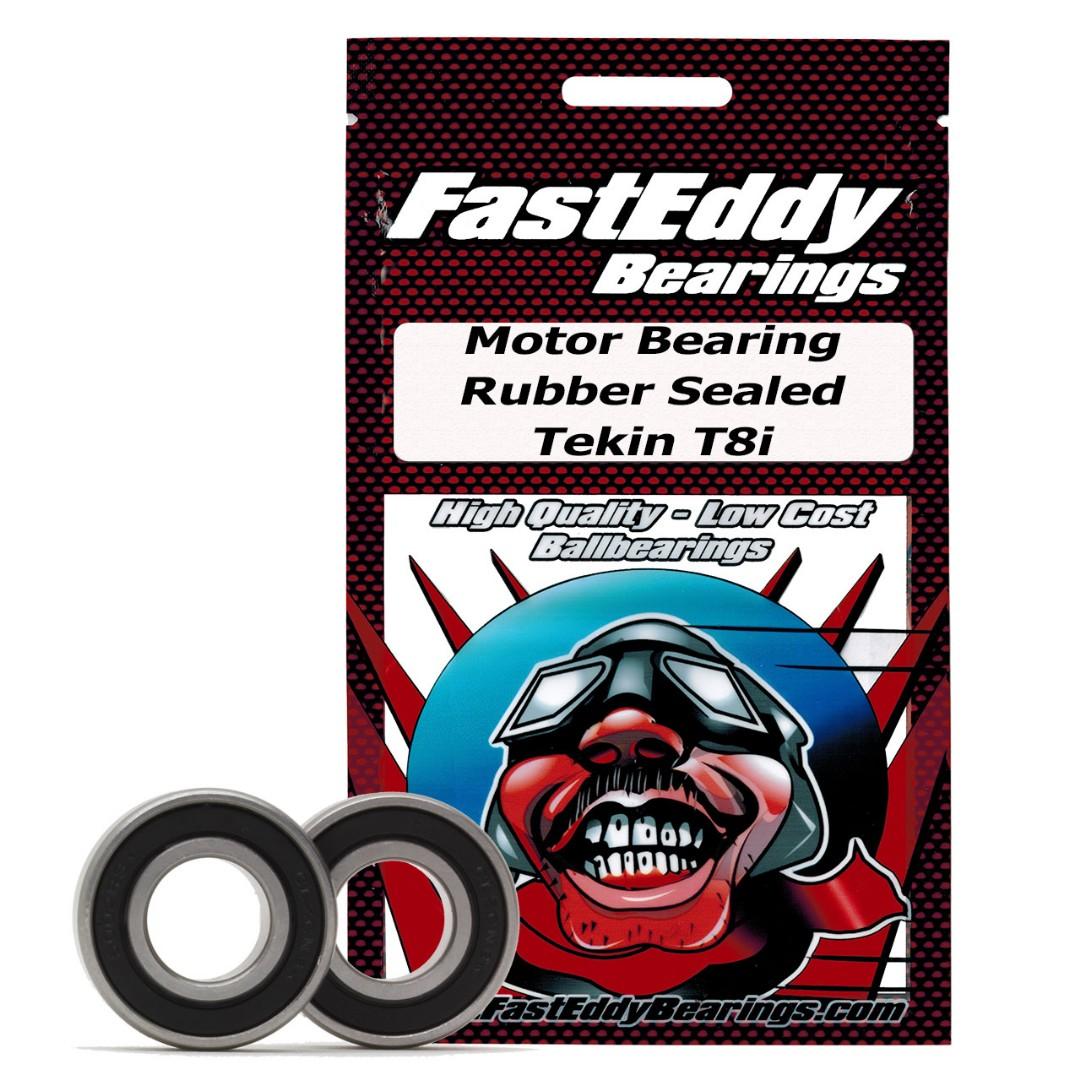 Fast Eddy Tekin T8i Rubber Sealed Bearing Kit