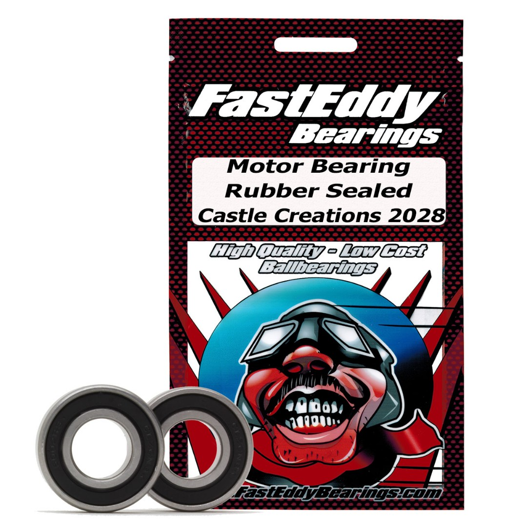 Fast Eddy Castle Creations 2028 Rubber Sealed Bearing Kit