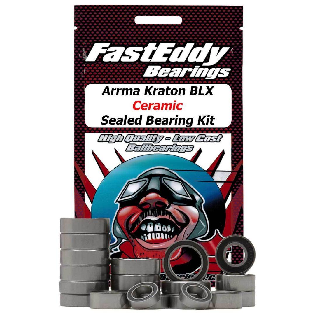 Fast Eddy Arrma Kraton BLX Ceramic Sealed Bearing Kit