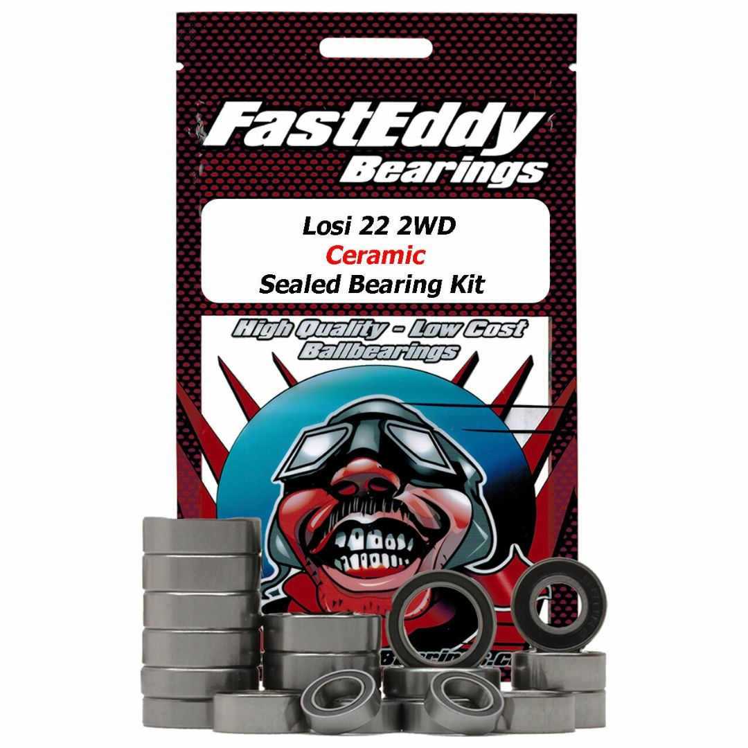 Fast Eddy Losi 22 2WD Ceramic Sealed Bearing Kit