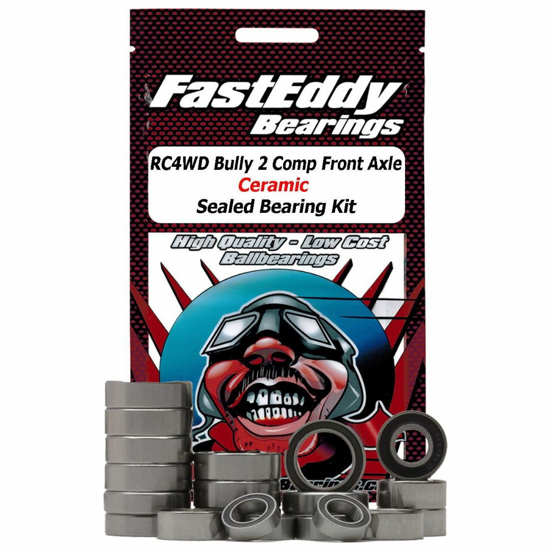 Fast Eddy RC4WD Bully 2 Competition Front Axle Ceramic Sealed Bearing Kit