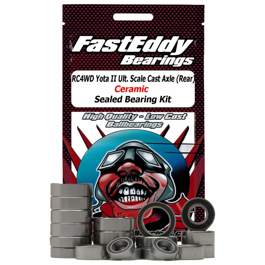 Fast Eddy RC4WD Yota II Ultimate Scale Cast Axle (Rear) Ceramic