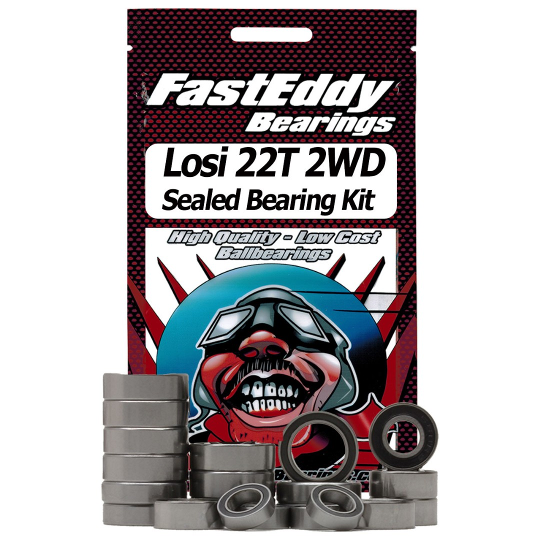 Fast Eddy Losi 22T 2WD Sealed Bearing Kit