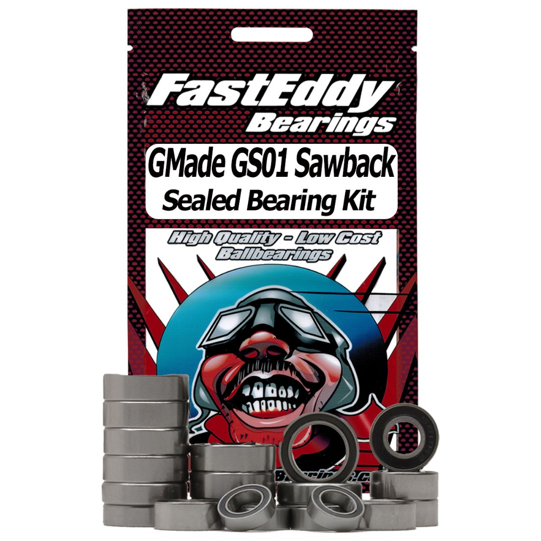 Fast Eddy GMade GS01 Sawback Sealed Bearing Kit