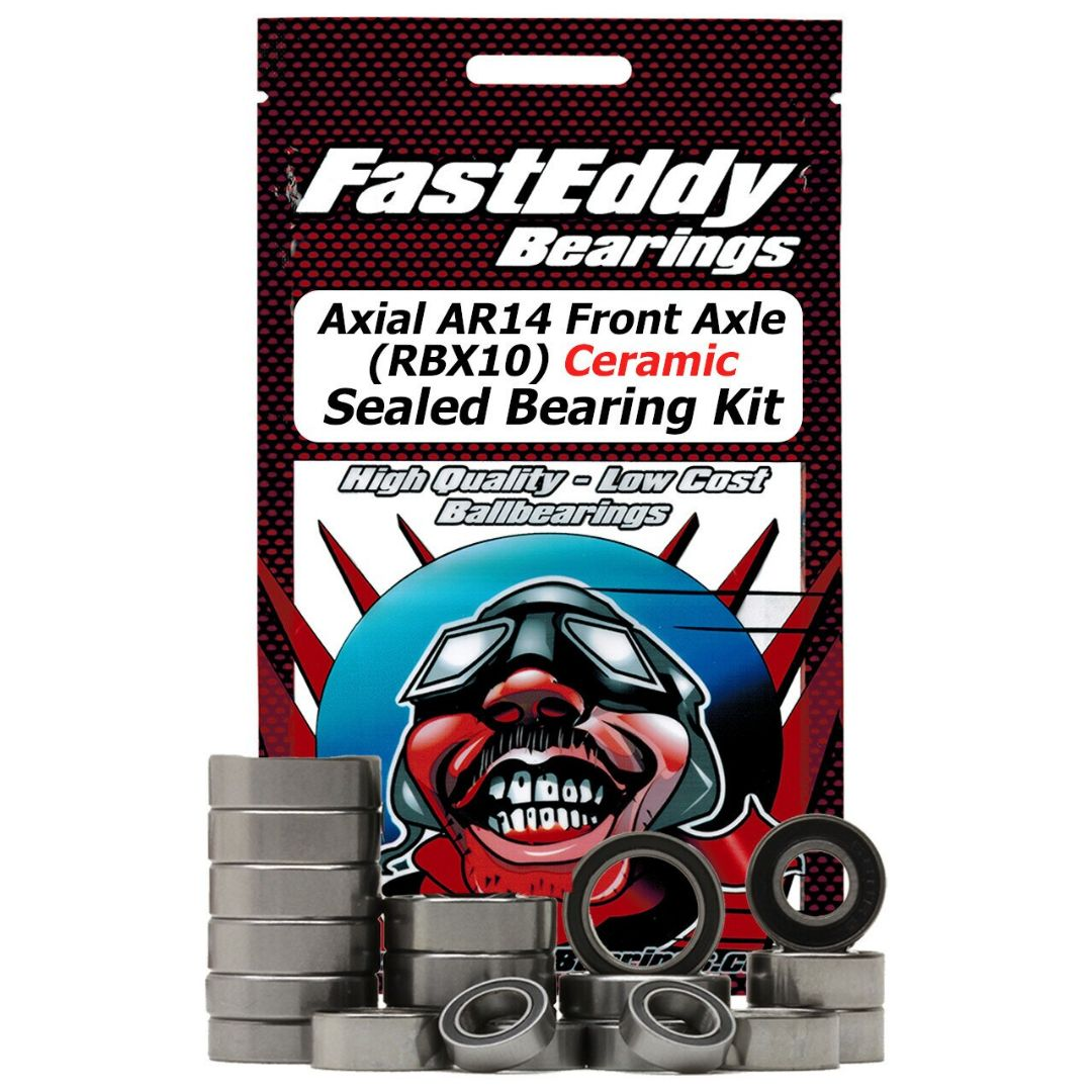 Fast Eddy Axial AR14 Front Axle (RBX10) Ceramic Sealed Bearing Kit