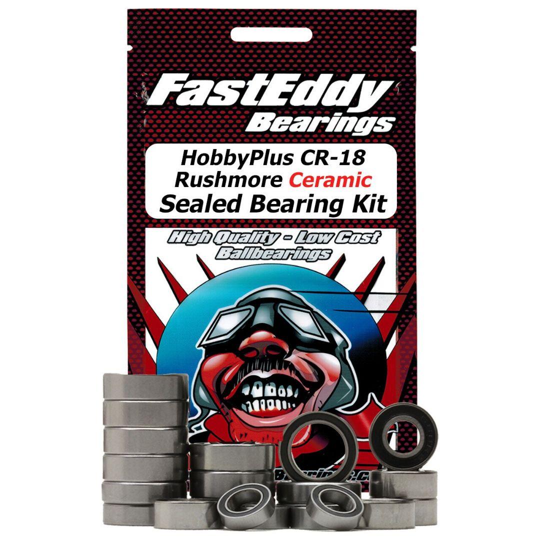 Fast Eddy HobbyPlus CR-18 Rushmore Ceramic Sealed Bearing Kit