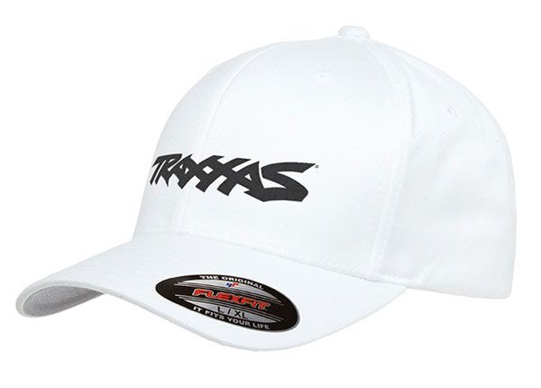 Traxxas Logo Hat White Large/XL