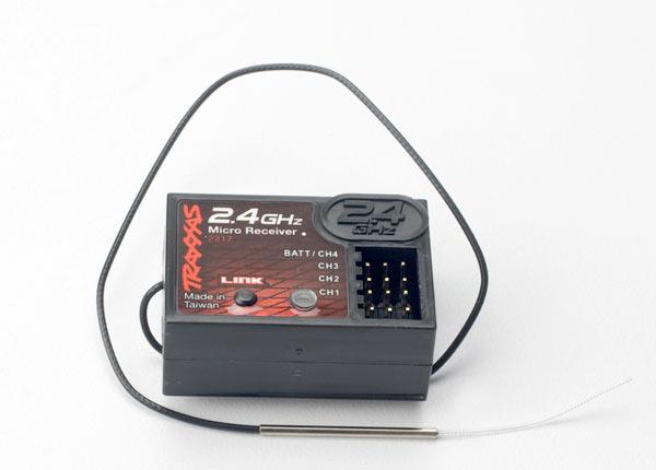 Traxxas TQ 2.4ghz Mini 4-Channel Receiver