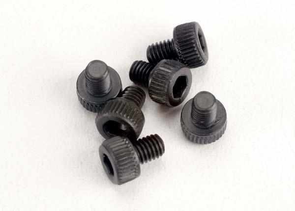 Traxxas Screws, 3x4mm cap-head machine (6)