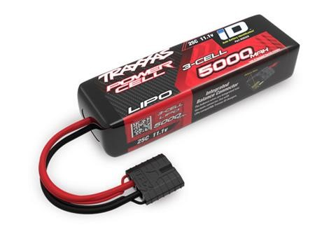 Traxxas 5000mAh 3S 11.1V 25C LiPo iD Connector Soft Case