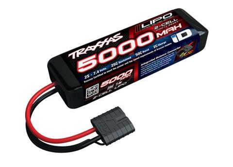 Traxxas 5000mAh 2S 7.4V 25C LiPo iD Connector Soft Case