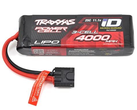 Traxxas 4000mAh 3S 11.1V 25C LiPo iD Connector Soft Case 135x26x43mm
