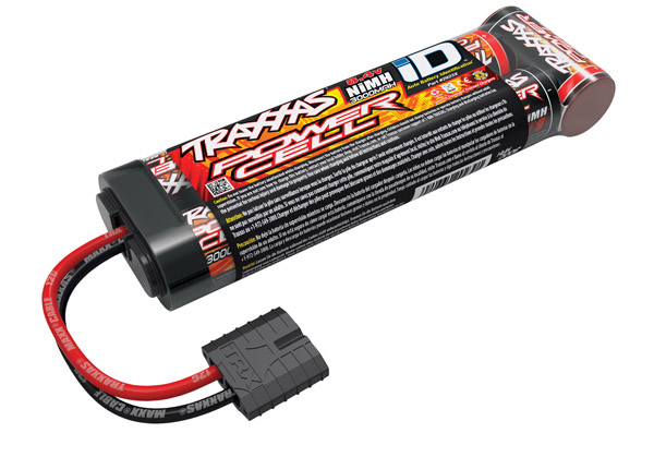 Traxxas Power Cell 3000mAh 8.4V NiMH Battery iD Plug