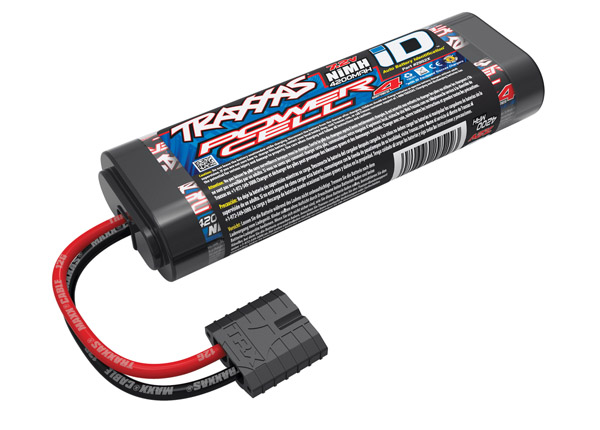 Traxxas Series 4 Power Cell 4200mAh 7.2V NiMH iD Plug Flat