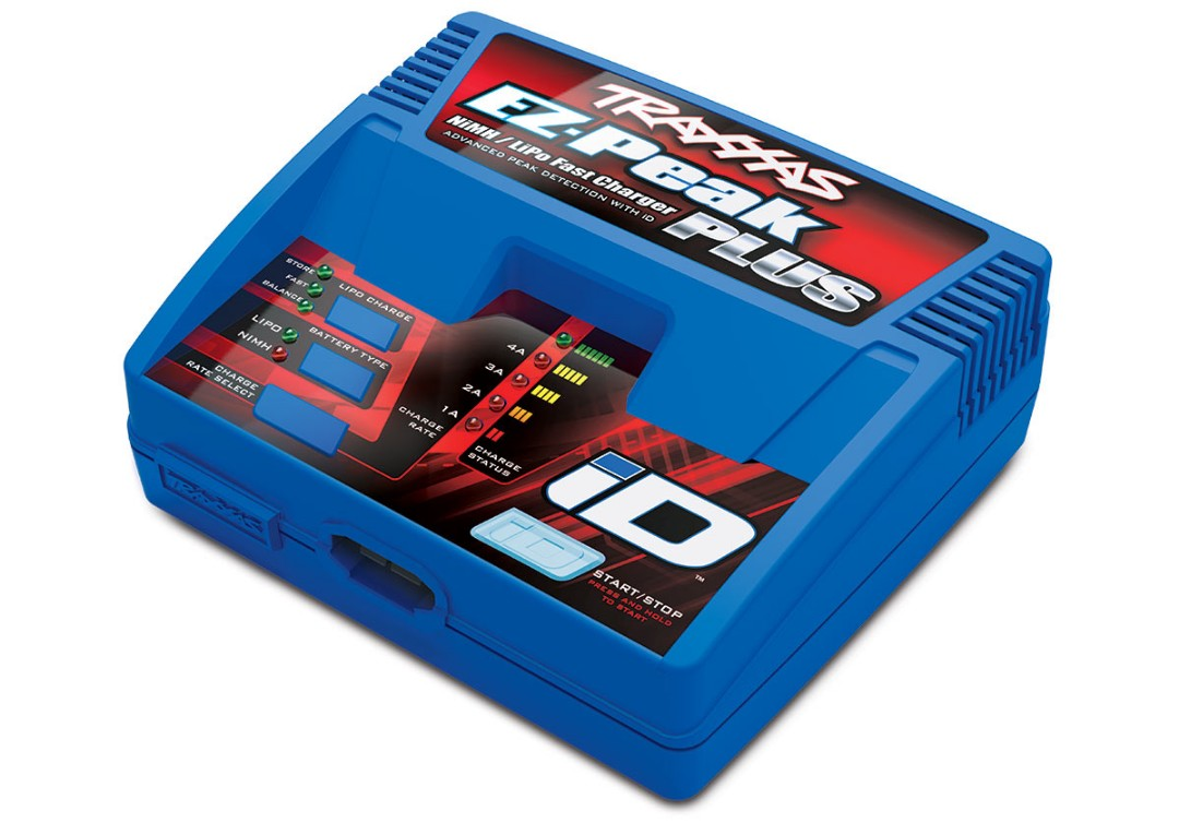 Traxxas EZ-Peak Plus Multi-Chemistry Battery Charger w/Auto iD (3S/4A/40W)