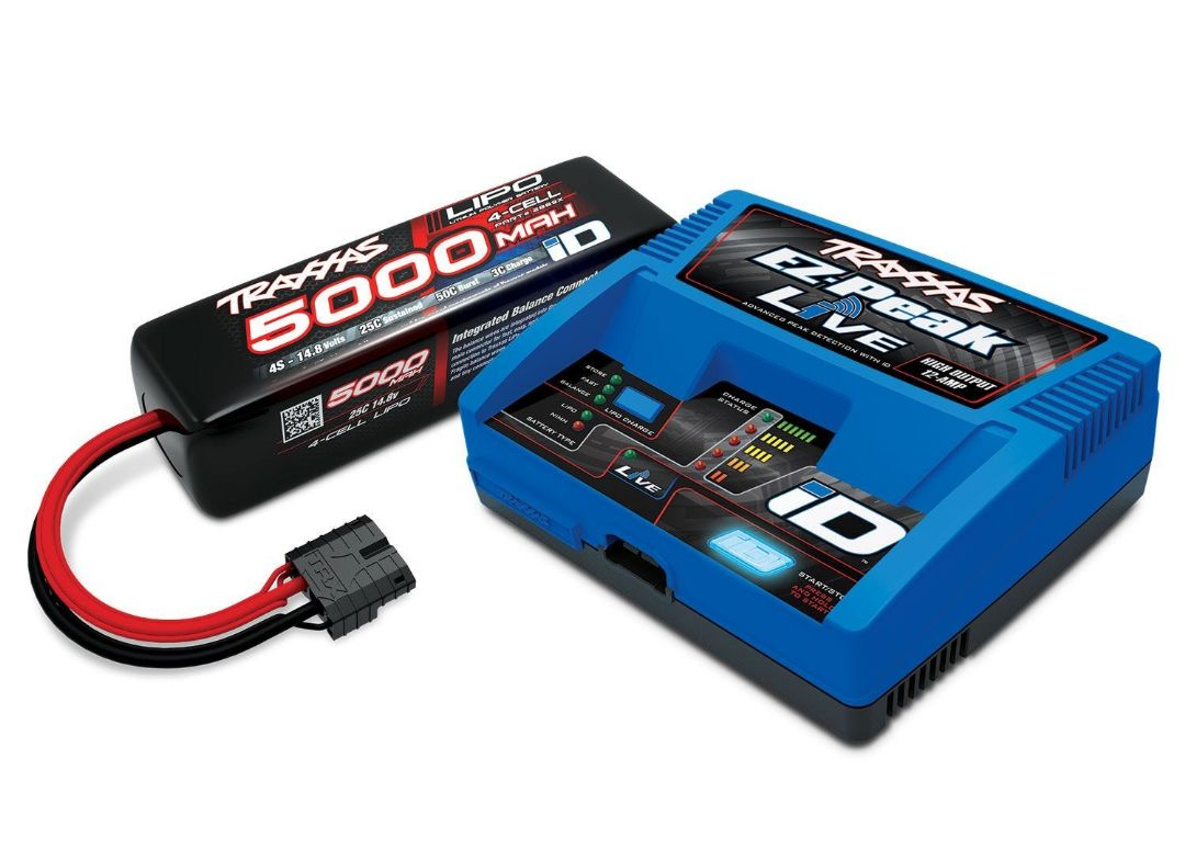 Traxxas EZ-Peak 4S Completer Pack with a 5000mAh LiPo
