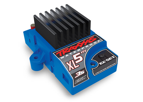 Traxxas XL-5HV 3s Electronic Speed Control, WP (Low-voltage Dete