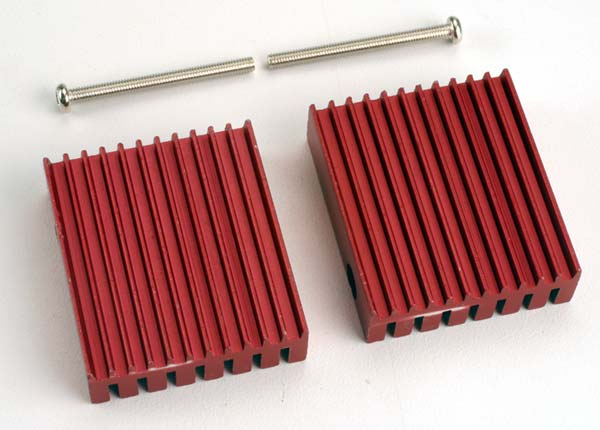 Traxxas Heat Sink, Low-Profile (For XL-1 ESC When Used In Sledgehammer)