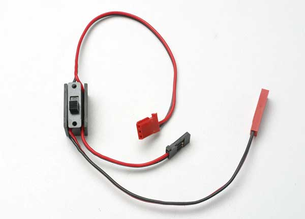 Traxxas Wiring Harness For RX Power Pack, Revo (Includes On/Off Switch And Charge Jack)