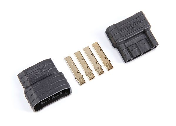 Traxxas connector, 4s (male) (2) - FOR ESC USE ONLY