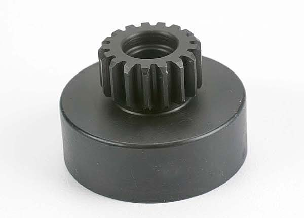 Traxxas Clutch Bell, Hardened Steel (17-Tooth) (32-Pitch) (Requires Two 5x10mm Ball Bearings, Part #4609) (N. Hawk/Buggy/Street)