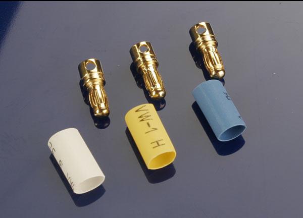 Traxxas 3.5mm Bullet Connectors (Male) (3) (VXL)