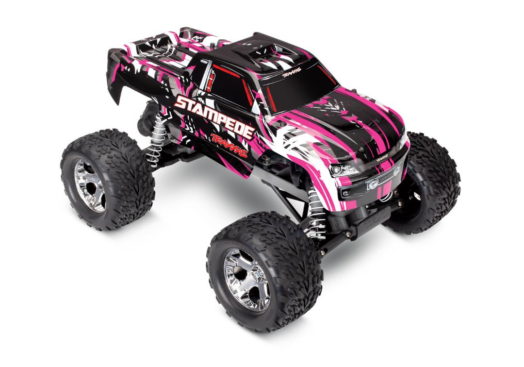 Traxxas Stampede 1/10 2wd XL-5 Pink DC Charger - PinkX