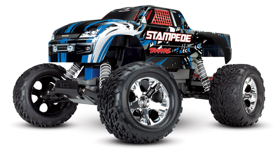 Traxxas Stampede 1/10 2wd XL-5 NO BATTERY OR CHARGER - Blue