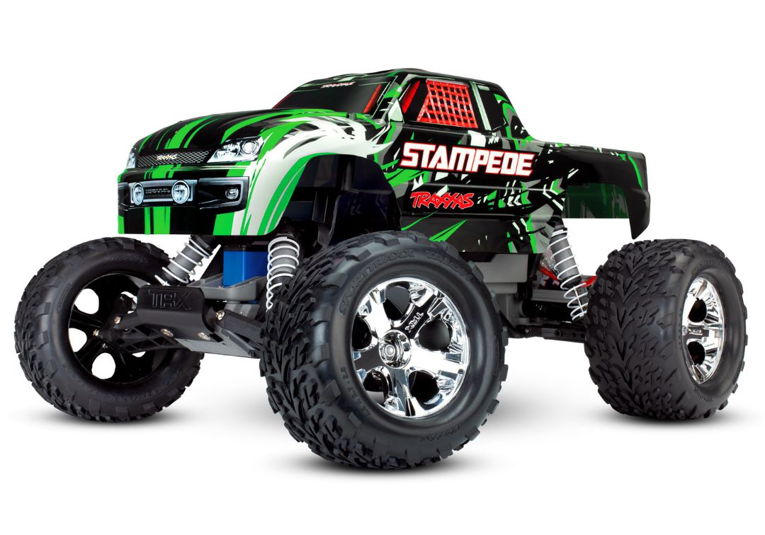 Traxxas Stampede 1/10 2wd XL-5 NO BATTERY OR CHARGER - Green