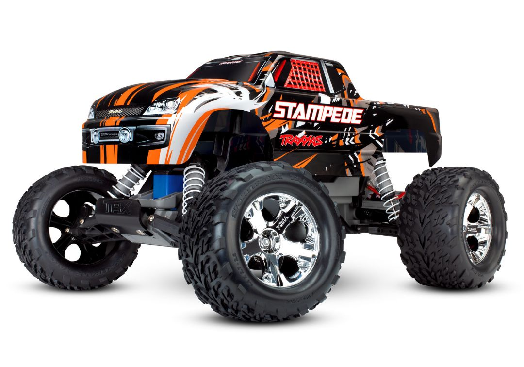 Traxxas Stampede 1/10 2wd XL-5 NO BATTERY OR CHARGER - Orange