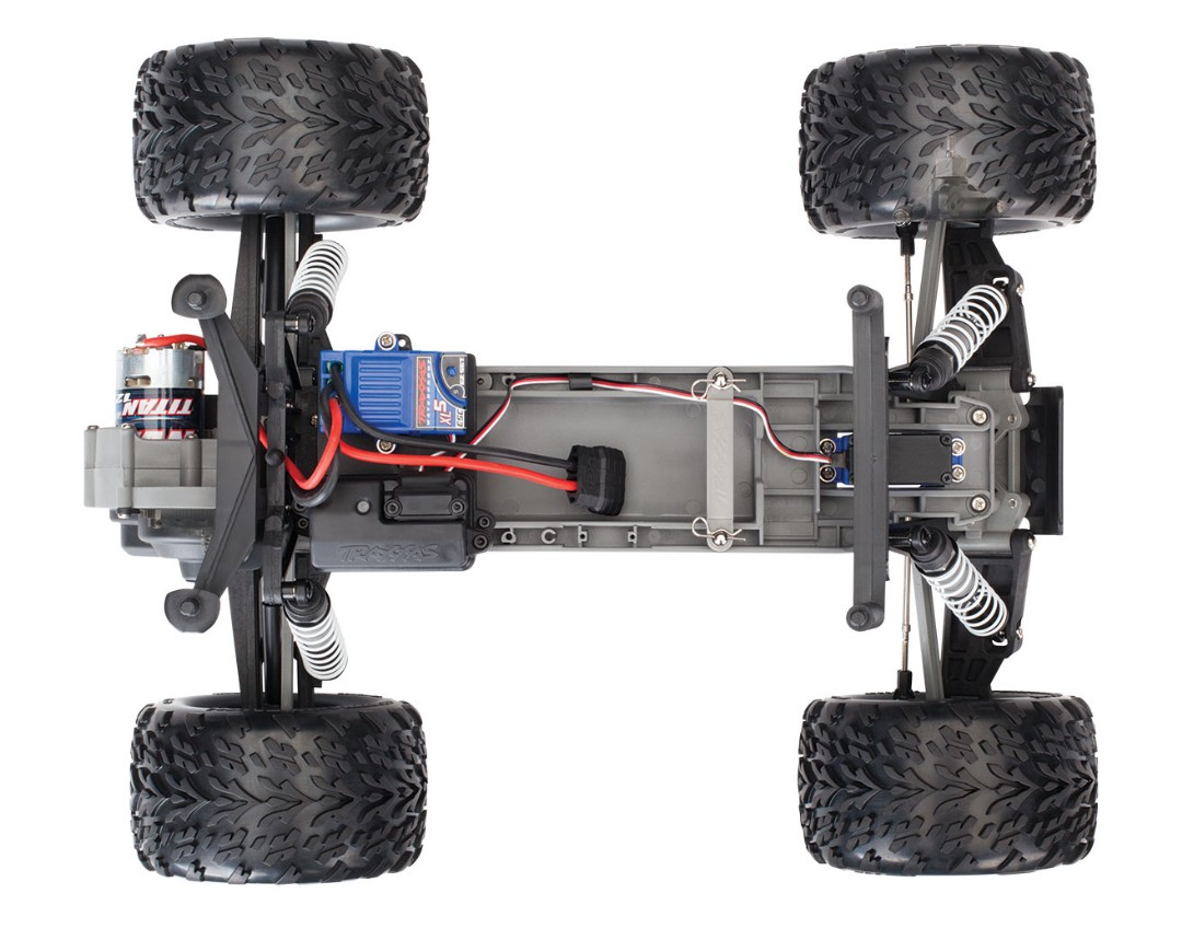 Traxxas Stampede 1/10 2wd XL-5 NO BATTERY/CHARGER - Red - Click Image to Close