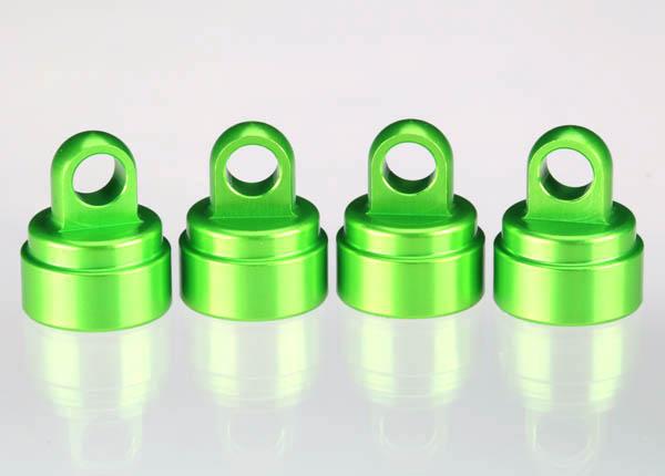 Traxxas Aluminum Ultra Shock Cap (Green) (4)