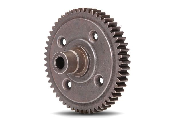 Traxxas Spur gear, steel, 54-tooth (0.8 metric pitch, compatible with 32-pitch) (for center differential)