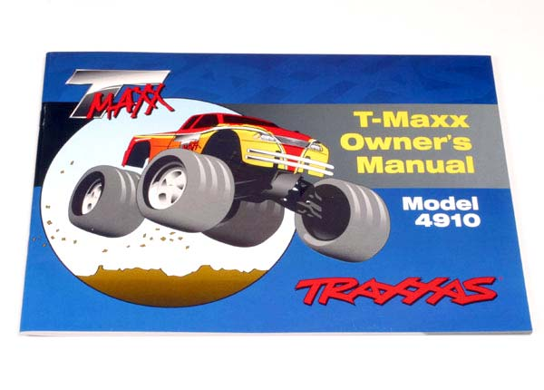Traxxas Owner's Manual, T-Maxx