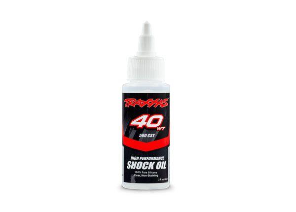 Traxxas Oil, shock (40 wt, 500 cSt, 60cc) (silicone)