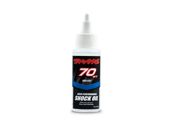 Traxxas Oil, shock (70 wt, 900 cSt, 60cc) (silicone)