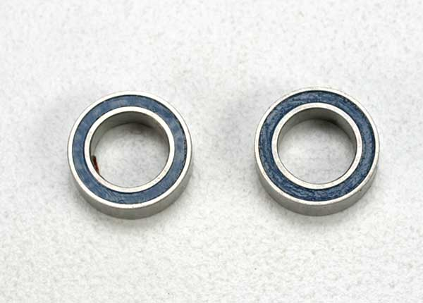 Traxxas Ball Bearing, Blue Rubber Sealed (5x8x2.5mm) (2)