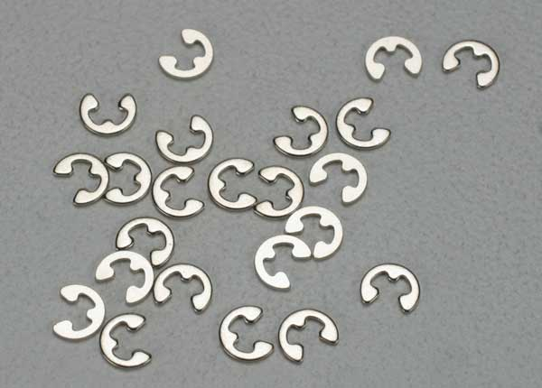 Traxxas E-clips, 1.5mm (24)