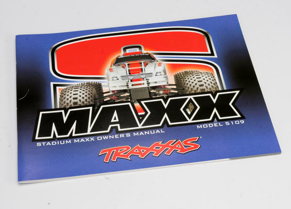 Traxxas Owner's Manual, S-Maxx
