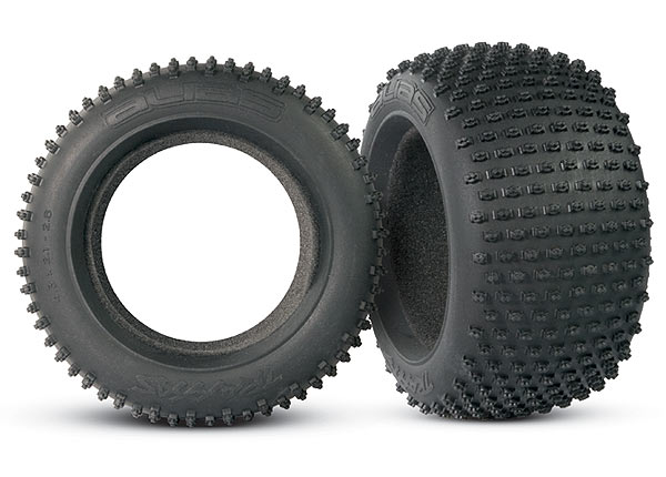 Traxxas Tires, Alias 2.8' (2)/ Foam Inserts (2)
