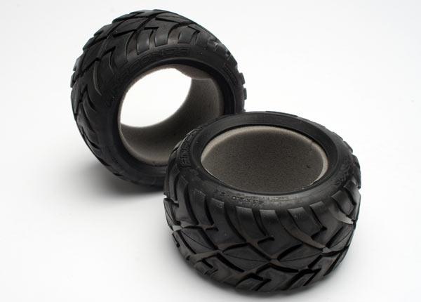 Traxxas Tires, Anaconda 2.8' (2)/ Foam Inserts (2)