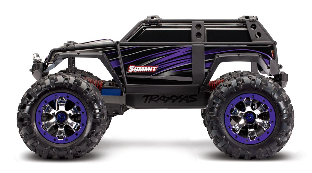 Traxxas Summit RTR 4WD Monster Truck Purple with TQi