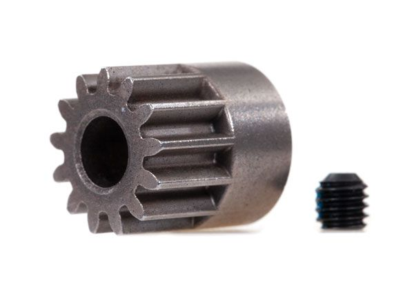 Traxxas Gear, 13-T pinion (0.8 metric pitch, compatible with 32-pitch) (fits 5mm shaft)/ set screw
