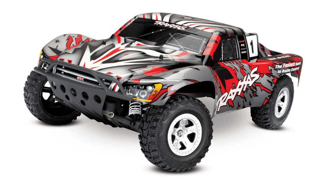 Traxxas Slash 2WD 1/10 RTR Electric Short Course Truck Red, No Battery/Charger, Brushed ESC XL-5 with Titan 12t