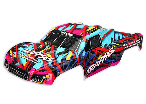 Traxxas Body, Slash 4X4, Hawaiian graphics (painted, decals applied)